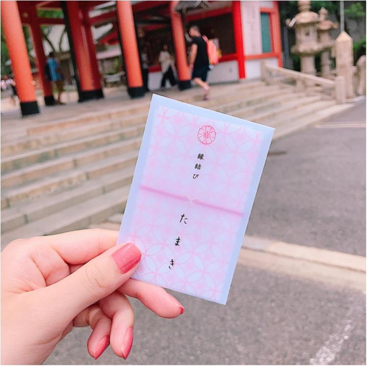 【ご当地MORE神戸】生田神社で恋愛についてお願いしてきました。笑っ_5