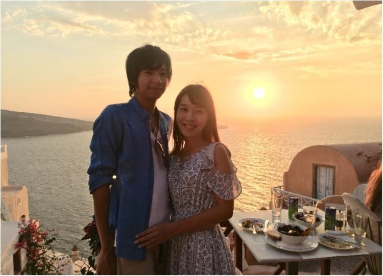 青と白の世界♡憧れのサントリーニ島へ♡_6