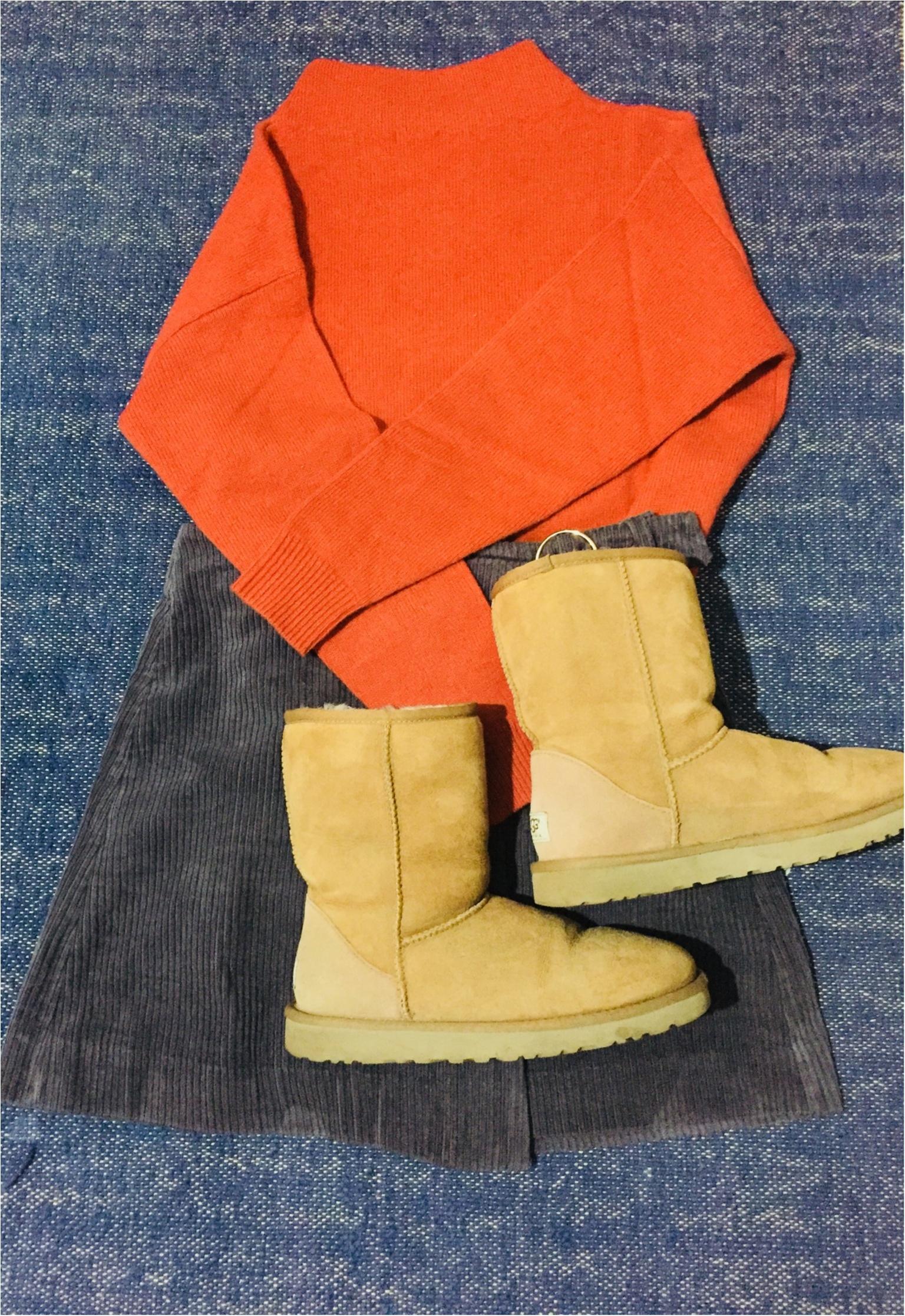 【UNIQLO de お買い物❤︎】寒い冬の気分を上げる!形がキレイ&明るい色のニットを買い足しました✌︎_3