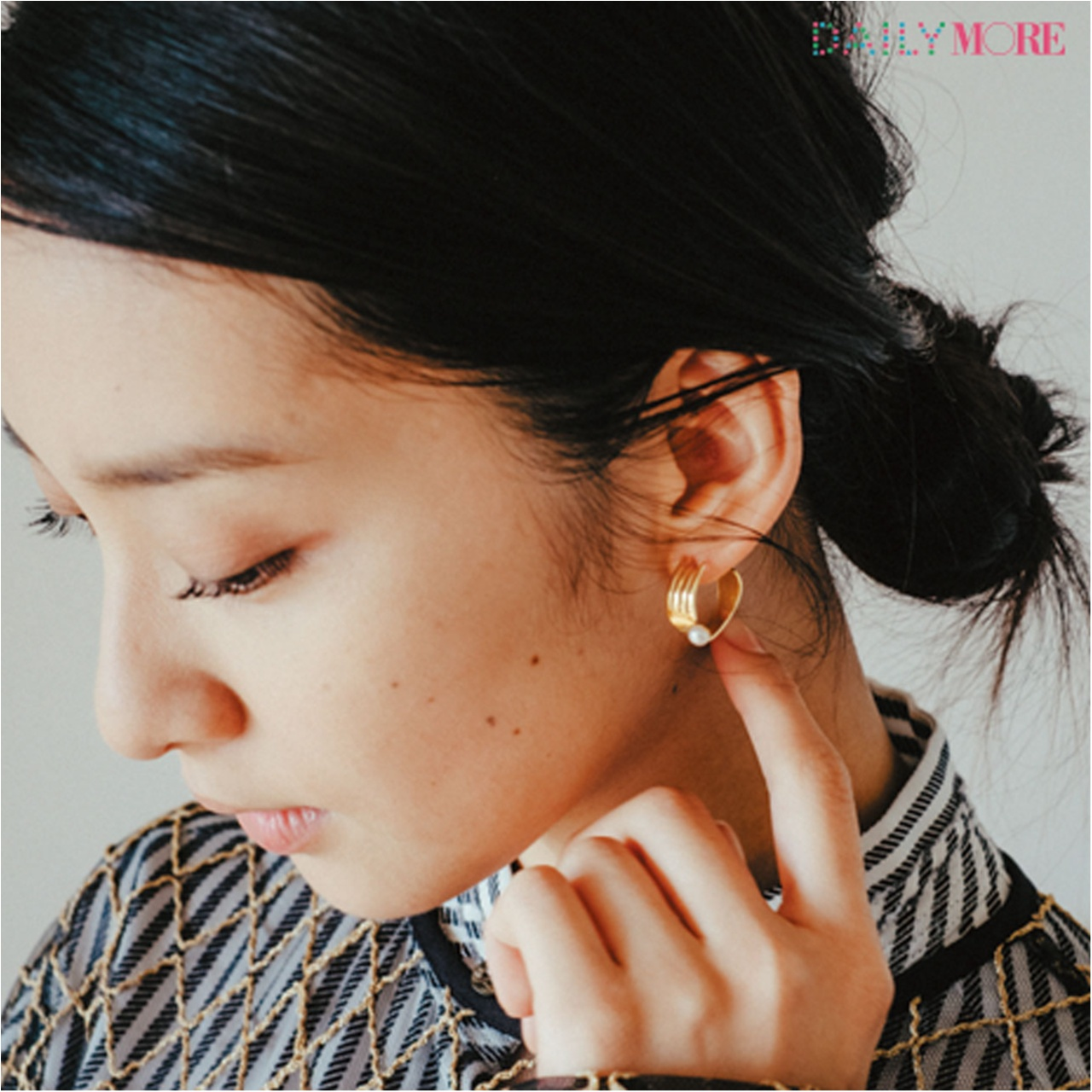 女優・武井咲さんのお気に入りワンピースは、シルエットが美しいマキシワンピ!!_2_2