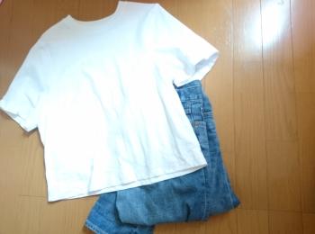 白Tシャツはコスパ抜群の UNIQLO(ユニクロ)☆