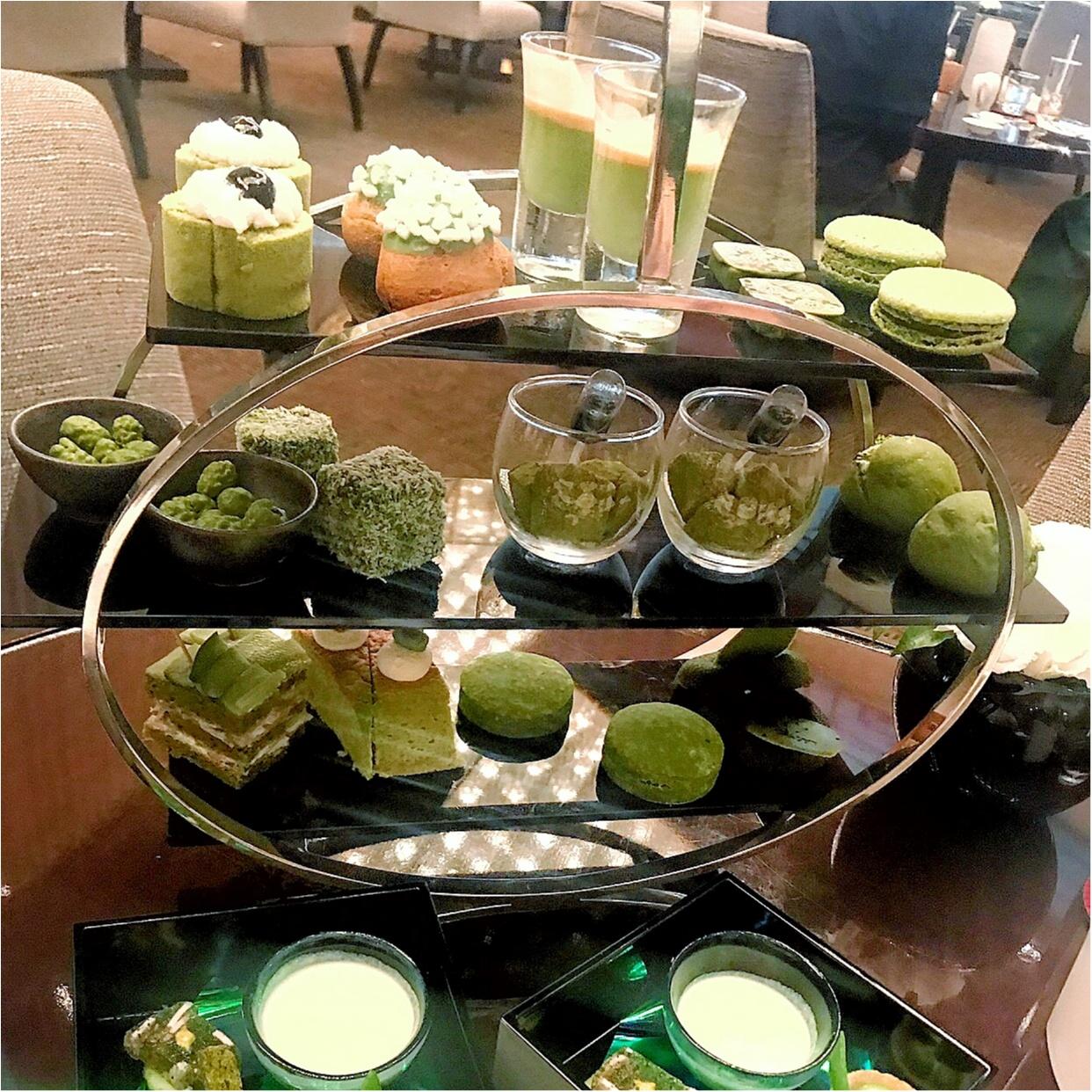 《抹茶好きさん必見》抹茶祭りアフタヌーンティー♡食べられるのはイマダケ♡_2