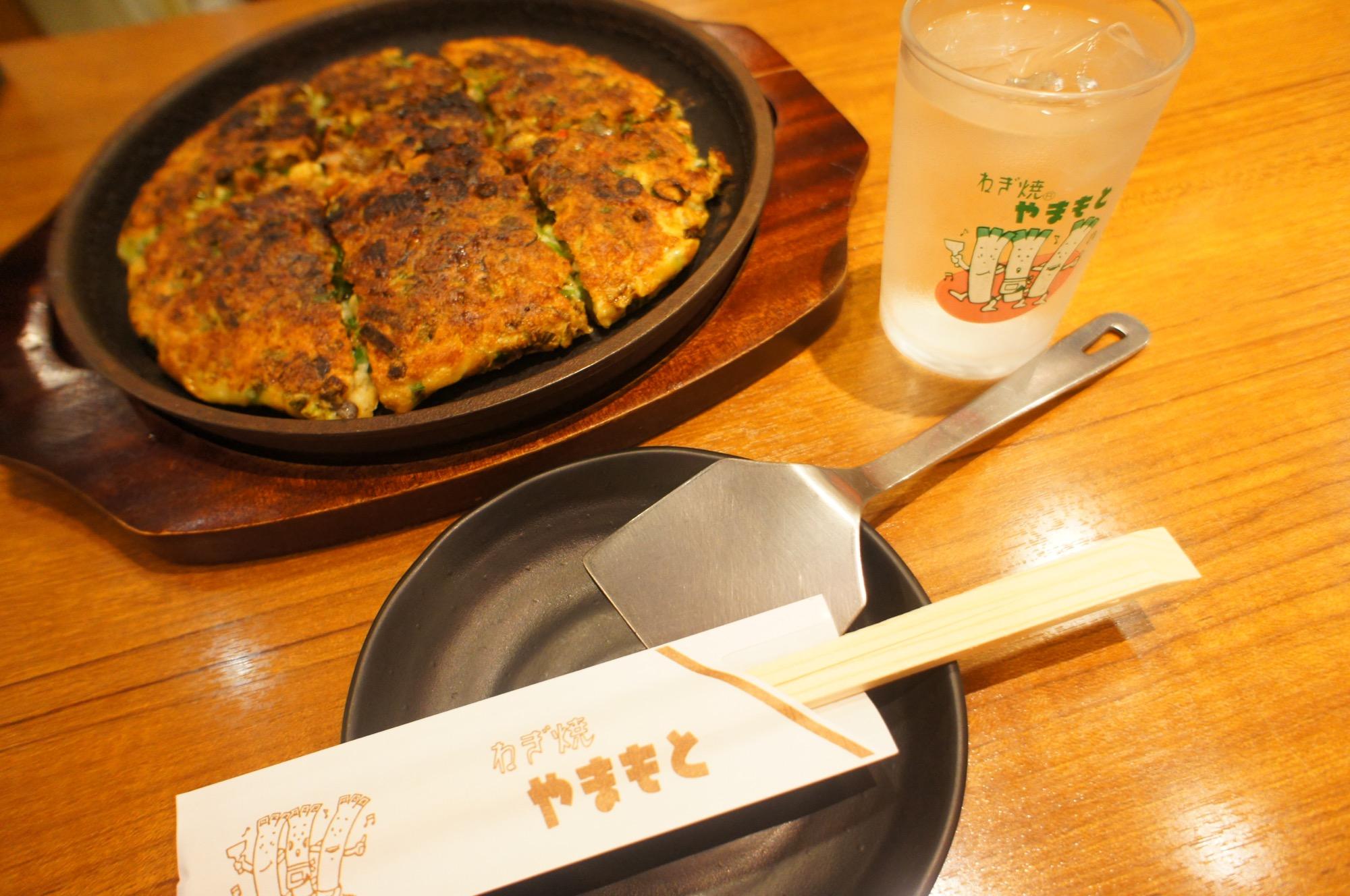 《ご当地MORE✩大阪》必ず食べたい関西グルメ❤️【やまもと】のねぎ焼が絶品☻!_1