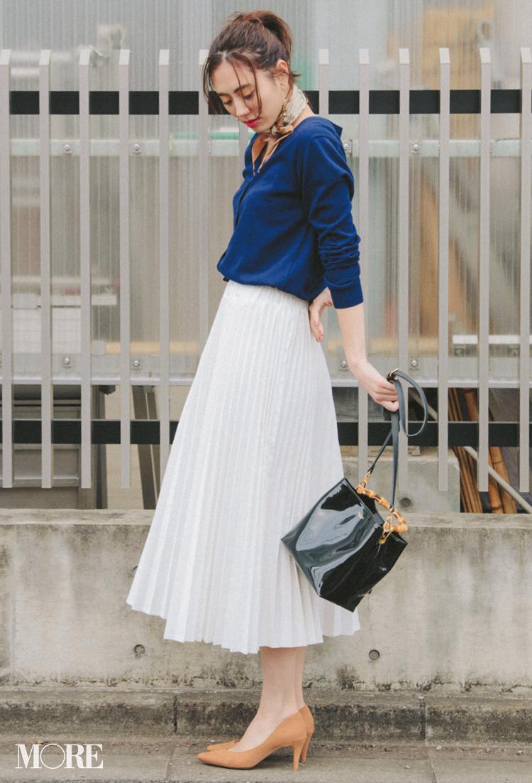 フレアやプリーツも!? 「白いデニムスカート」がものすごい進化を遂げている!_2