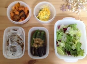 《つくおき》夏野菜をたっぷり使って簡単作り置き♡