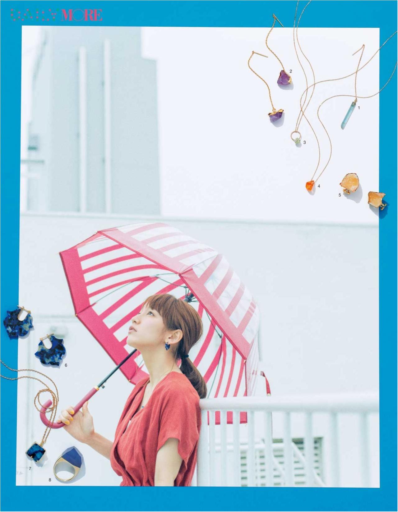 【女優・吉岡里帆のおしゃれストーリー】色石アクセサリーをつけた日は、なんだかいいことが起こりそう。_3