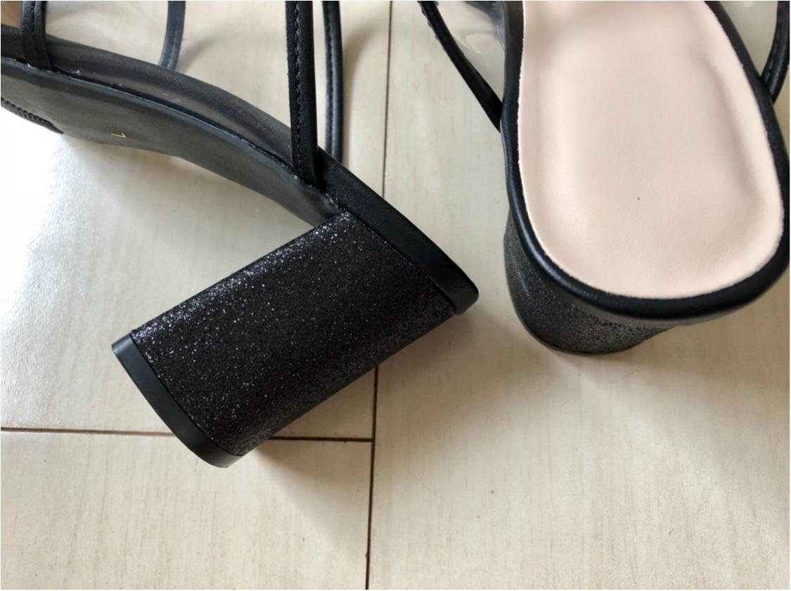 今年のトレンド《PVCサンダル》❤️私はプチプラ【GU】で万能な1足をゲットしました!_4