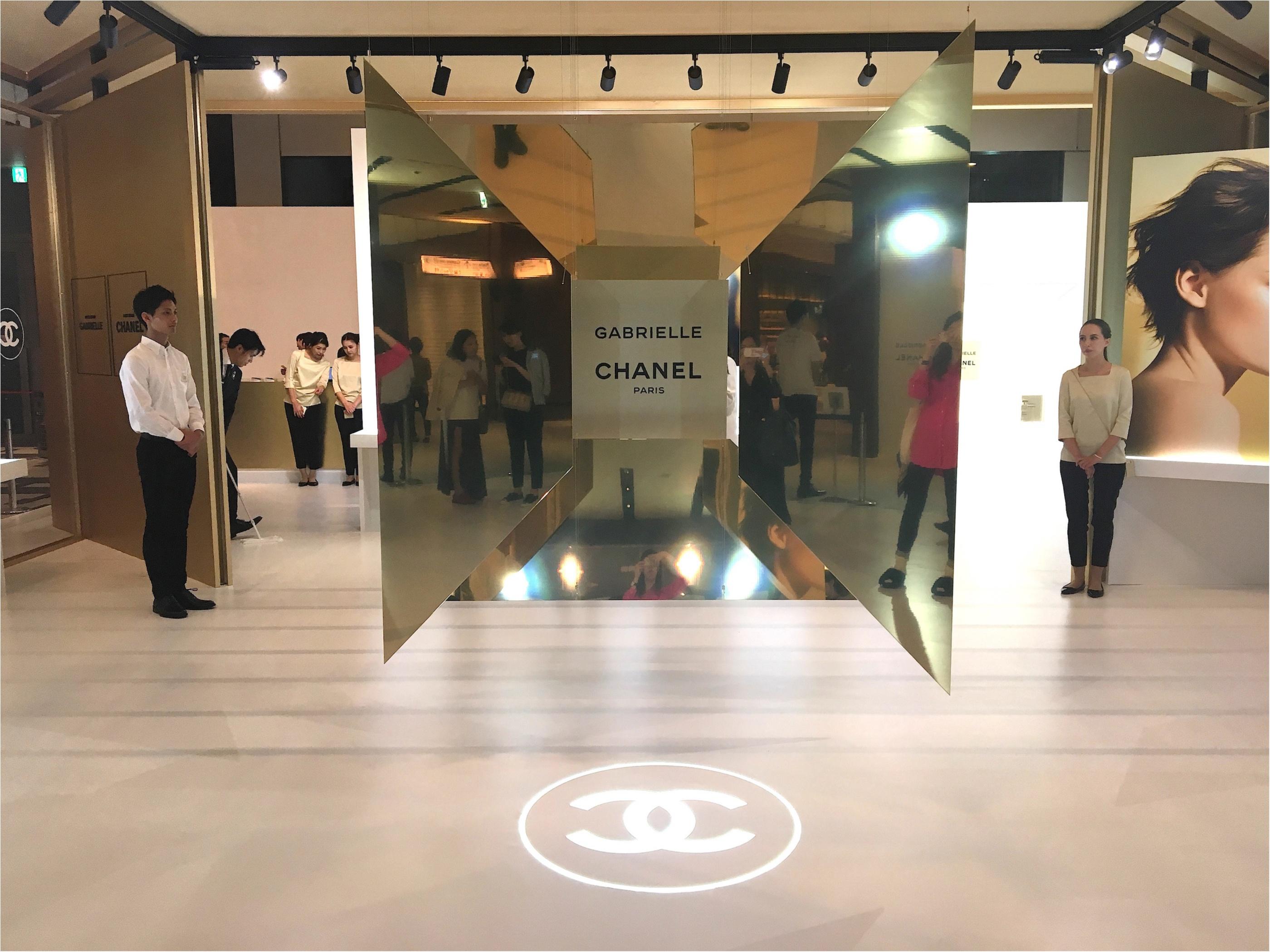 「ガブリエル シャネル」の香りを体感できるイベントスペースが、東京ミッドタウンに登場! SNS映え間違いなしの、美しすぎる空間をご覧あれ♡_1_1