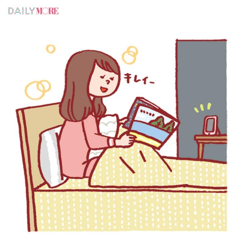 """眠る90分前に40度で15分入浴!など""""質のいい眠り""""のためのナイトToDoリスト♡_1_4"""
