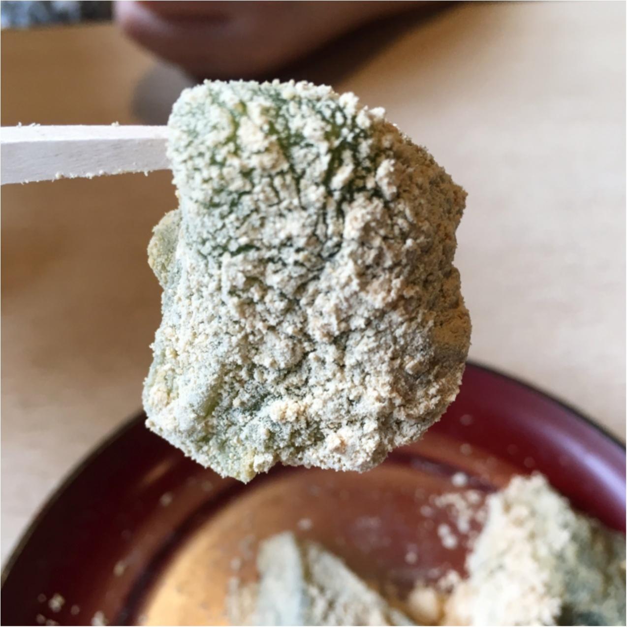 プルプルとろける食感♡ 京都で人気の《 草わらびもち 》はいかがですか?_3