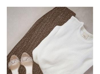 《今買って秋まで使える》優秀アイテム!【Te chichi(テチチ)】のドットプリーツスカートをSALE価格まさかの¥1,600以下でゲット✌︎❤️