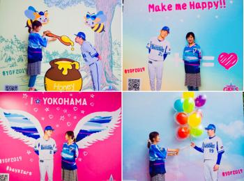 映えスポット、映えフード、女子限定ユニフォーム♡野球女子の祭典★【YOKOHAMA GIRLS☆FESTIVAL 2019】へ♡