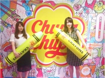《7月28.29日限定!》渋谷に「#ストーリー映え」するチュッパチャプス空間が登場!