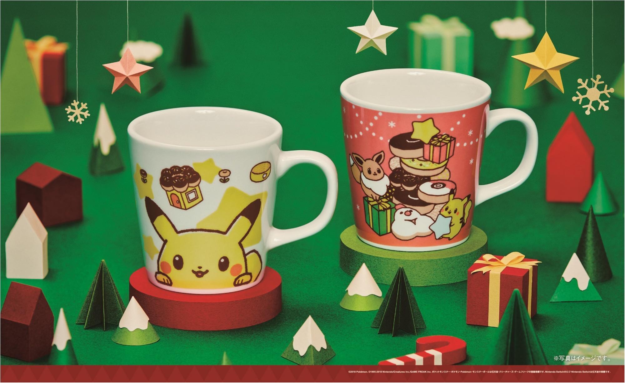 ミスドのクリスマスは『ポケモン』と一緒♡ 「ピカチュウ ドーナツ」が、可愛すぎて食べられない!_5