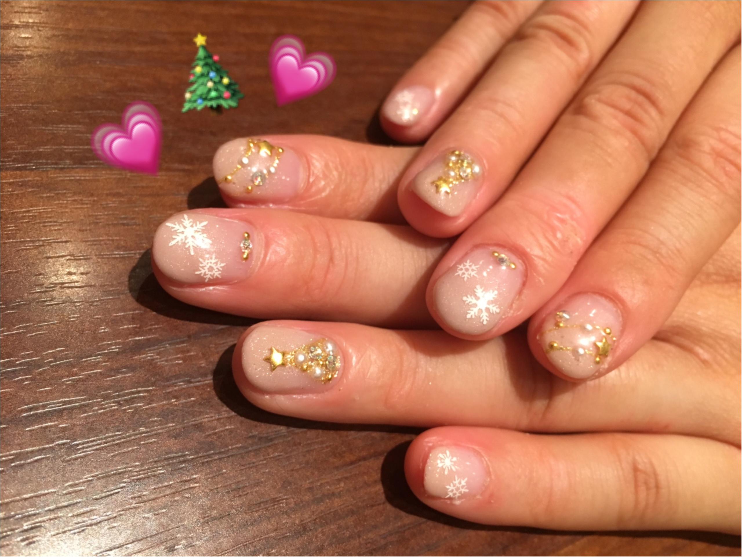 【ネイル】12月のNEW NAILは指先からクリスマス♡_1