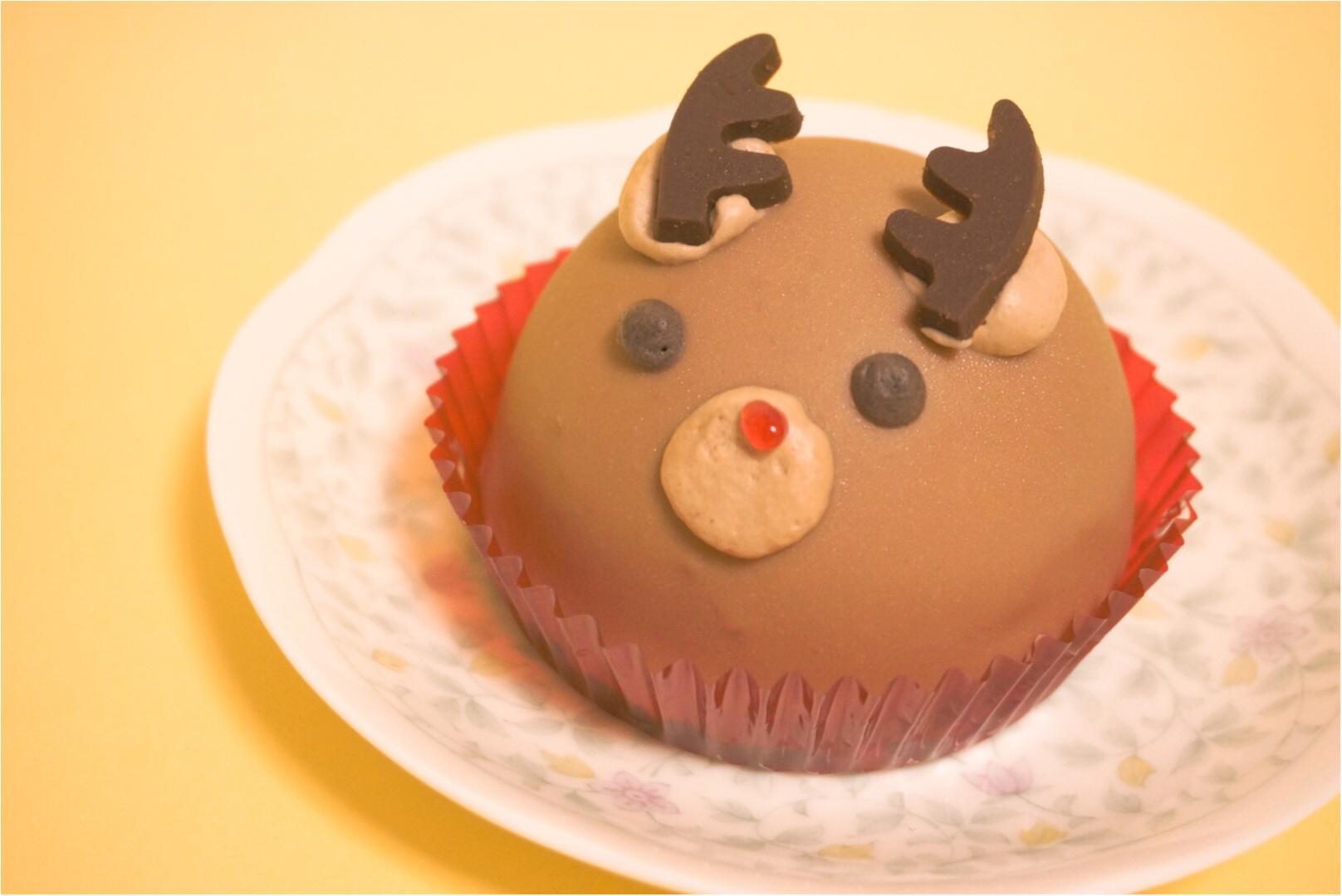 《カメラ必須‼︎》食べるのがもったいない‼︎セブンイレブンのトナカイ&雪の子ケーキが可愛すぎるっ♡_2