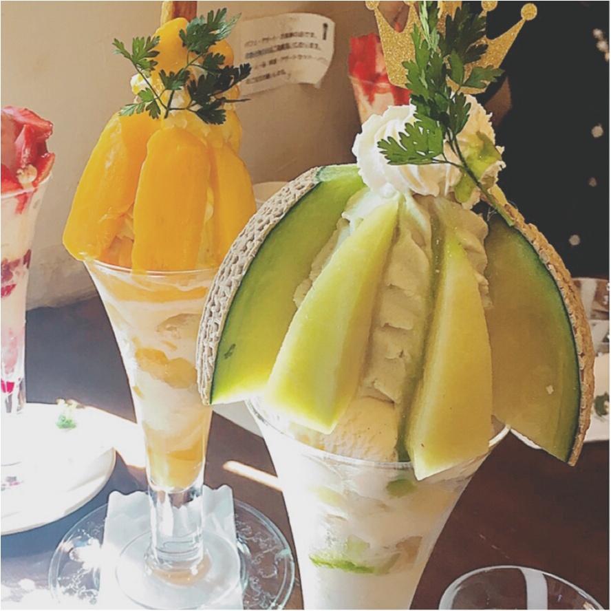 ★こんな贅沢あっていいの?特盛フルーツパフェのお店『Cafe de Lyon』で至福の時間を味わって★_4