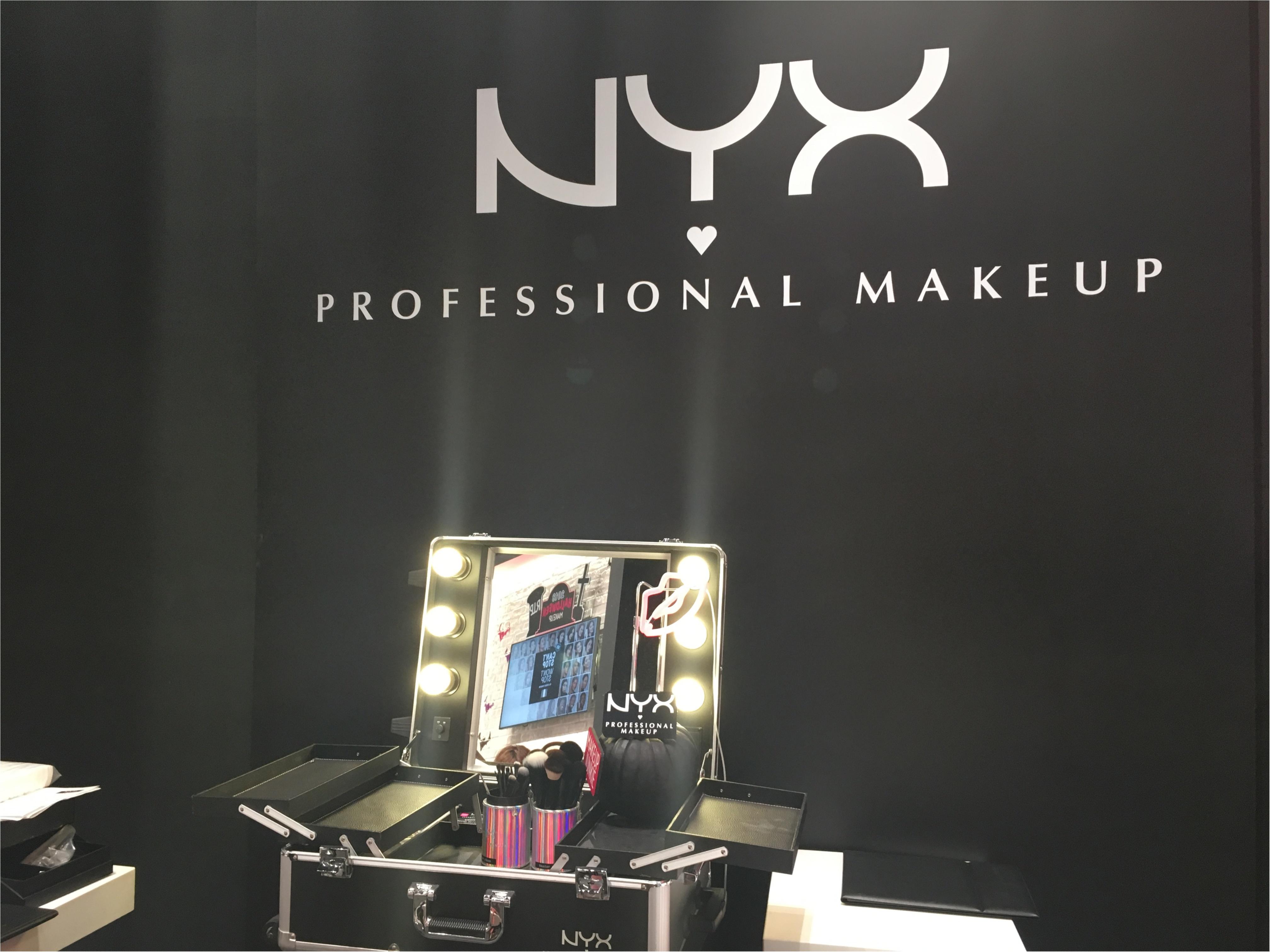 【NYX(ニックス)】LA発コスメブランドでハロウィンメイクを体験!!_1