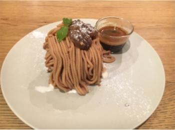 【大阪カフェ】理想のモンブラン見つけた!あったか×冷やっとが絶妙な《モンブランアフォガード》♡