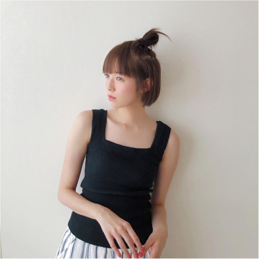 【お気に入りの部屋着を見せて!】佐藤栞里ちゃんは『FRAY I.D』の万能キャミソール!_1