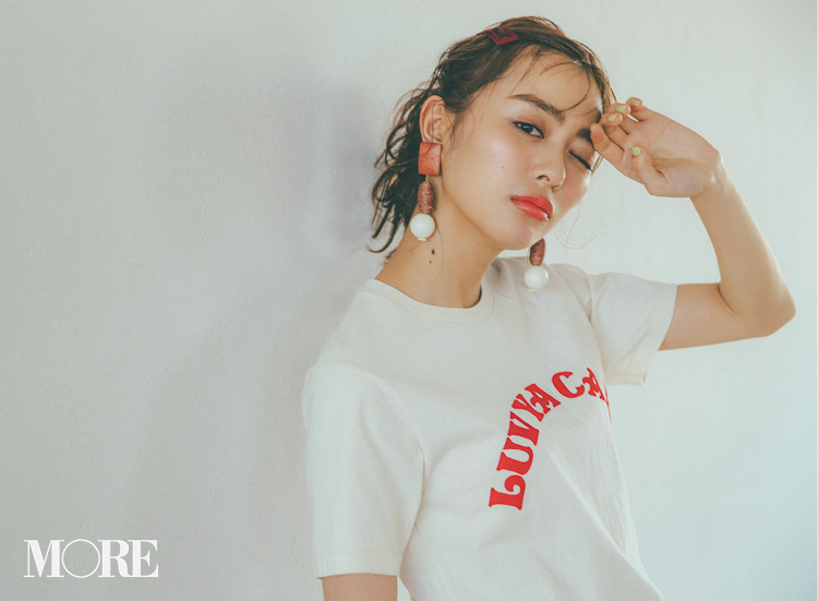 Tシャツコーデ特集《2019年版》- ユニクロやパックTなどプチプラTシャツも!_13