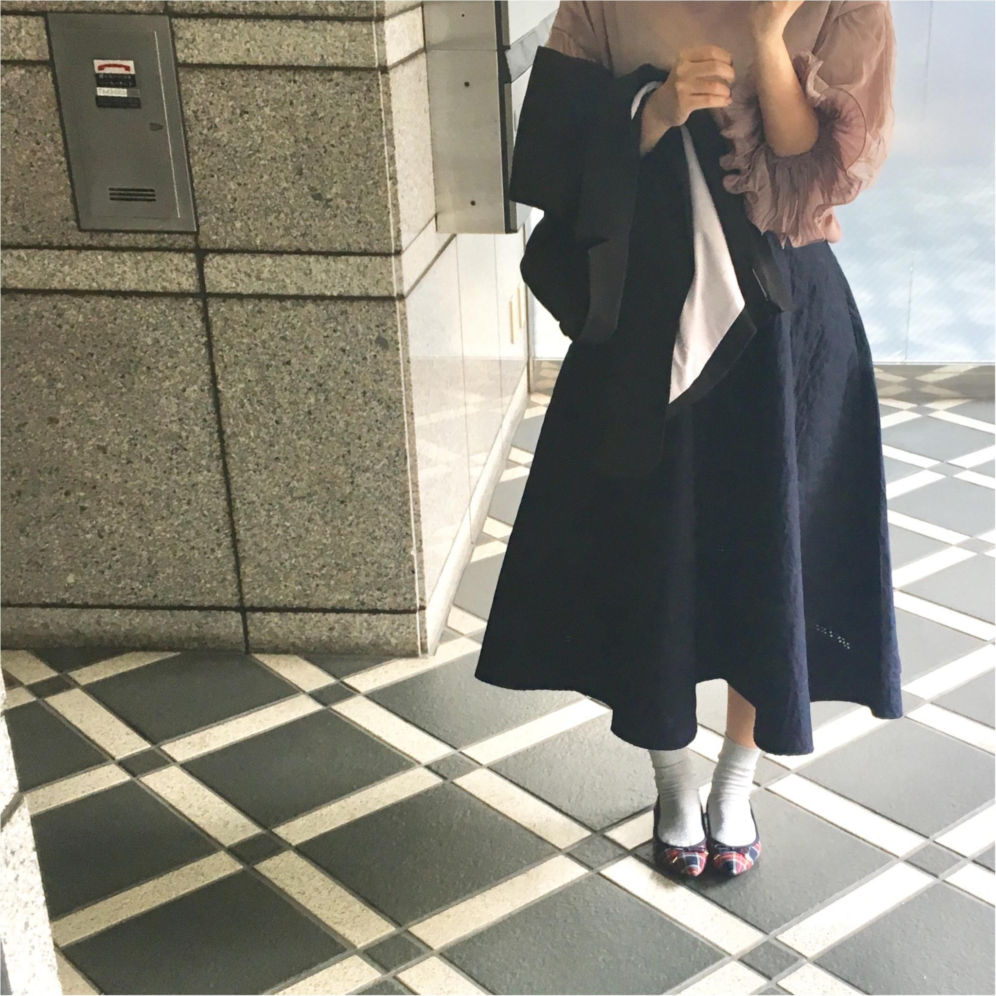 【今週のコーデまとめvol.35】ネイビーが着たい!甘めカジュアル派の7days_6