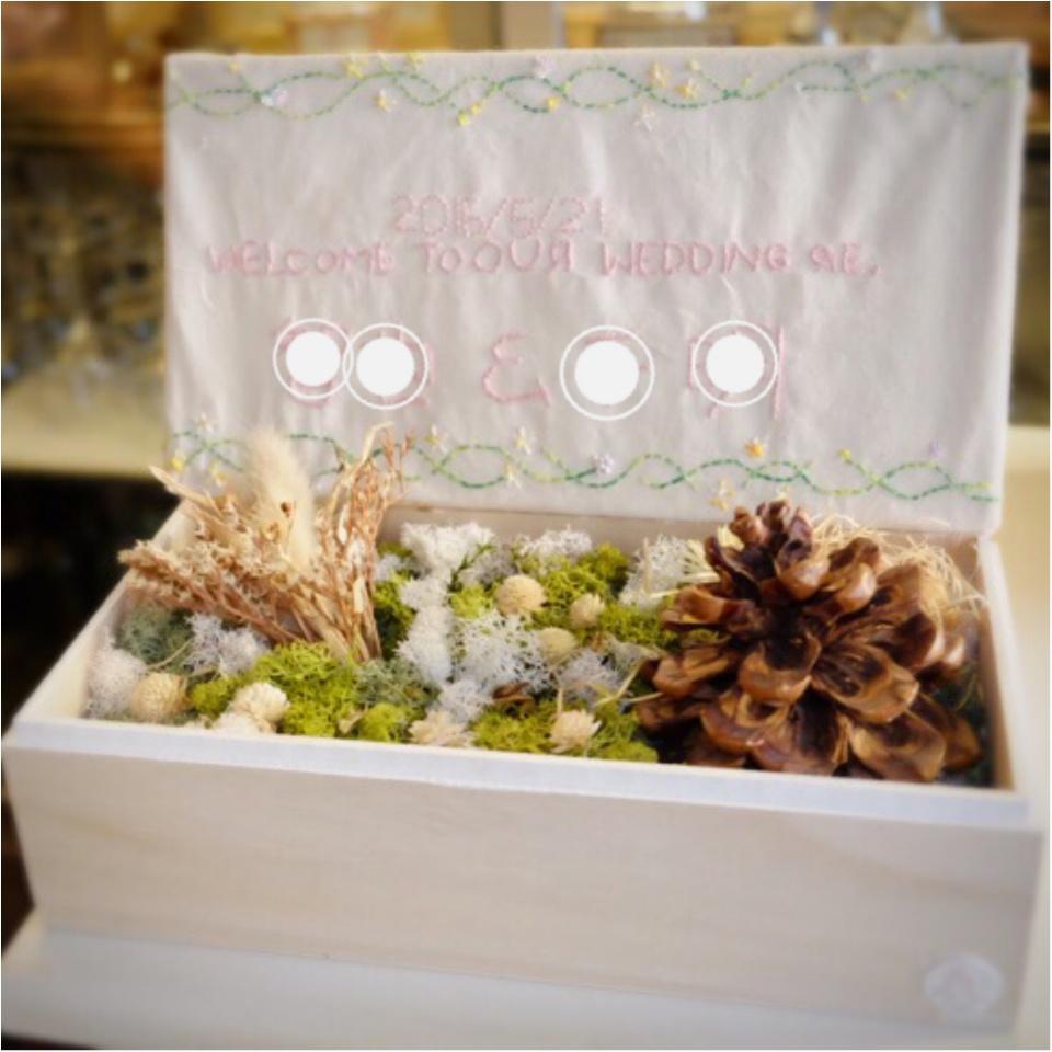 …ஐ 【結婚式DIY】ウェルカムボードはオリジナル☆コンセプトに合わせて自分でつくろう✌︎ ஐ¨_3