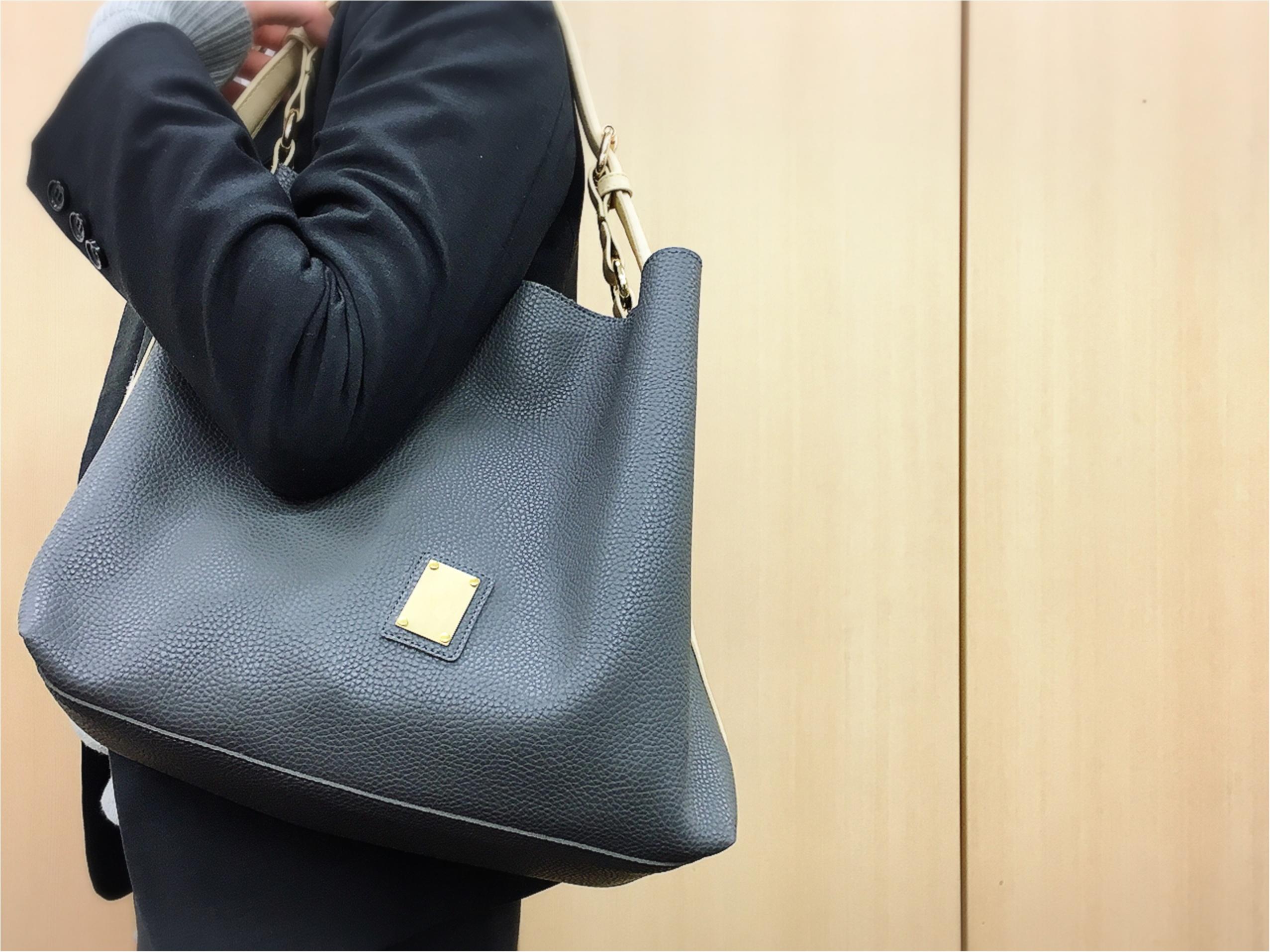お仕事バッグはワンハンドルがひそかに流行中!?_5