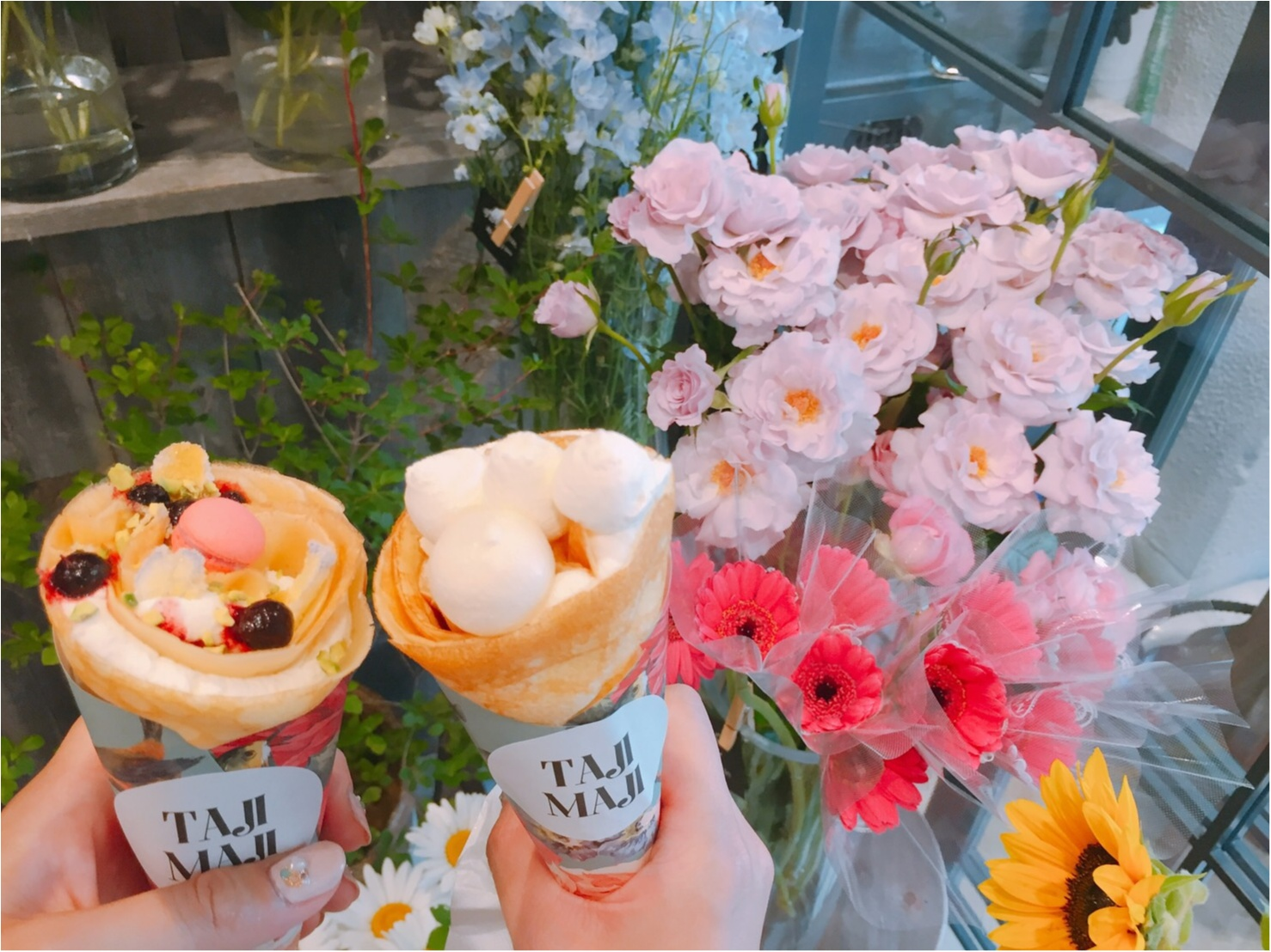 【カフェ巡り】まるで花束のような女の子らしい可愛いスイーツ♡_3