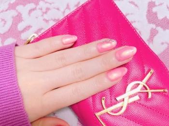 *・゜゚・*春を先取り*・゜゚・*大人可愛いピンクネイルはシルバー入りがオススメ♡