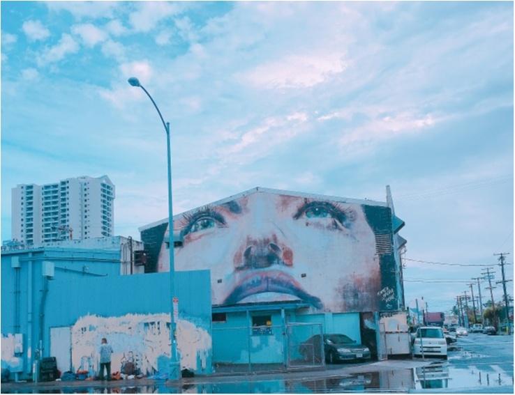 《ビーチだけが魅力じゃない♡ハワイの注目新スポット》まるでNYブルックリン!フォトジェニックなウォールアートで素敵な一枚を♡_4