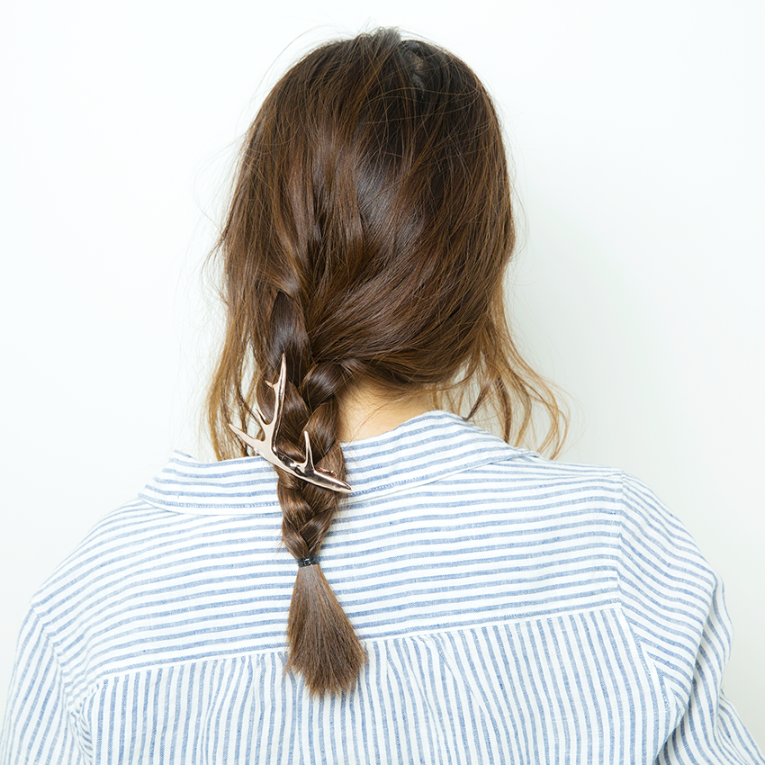 次くるヘアアレンジ5つのHOT TIPS♡『三つ編みはあえての激タイト!』_3