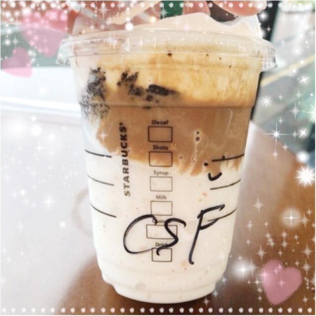 NEWフレーバー❤︎新発売!【チョコレートケーキトップフラペチーノwithコーヒーショット】_2