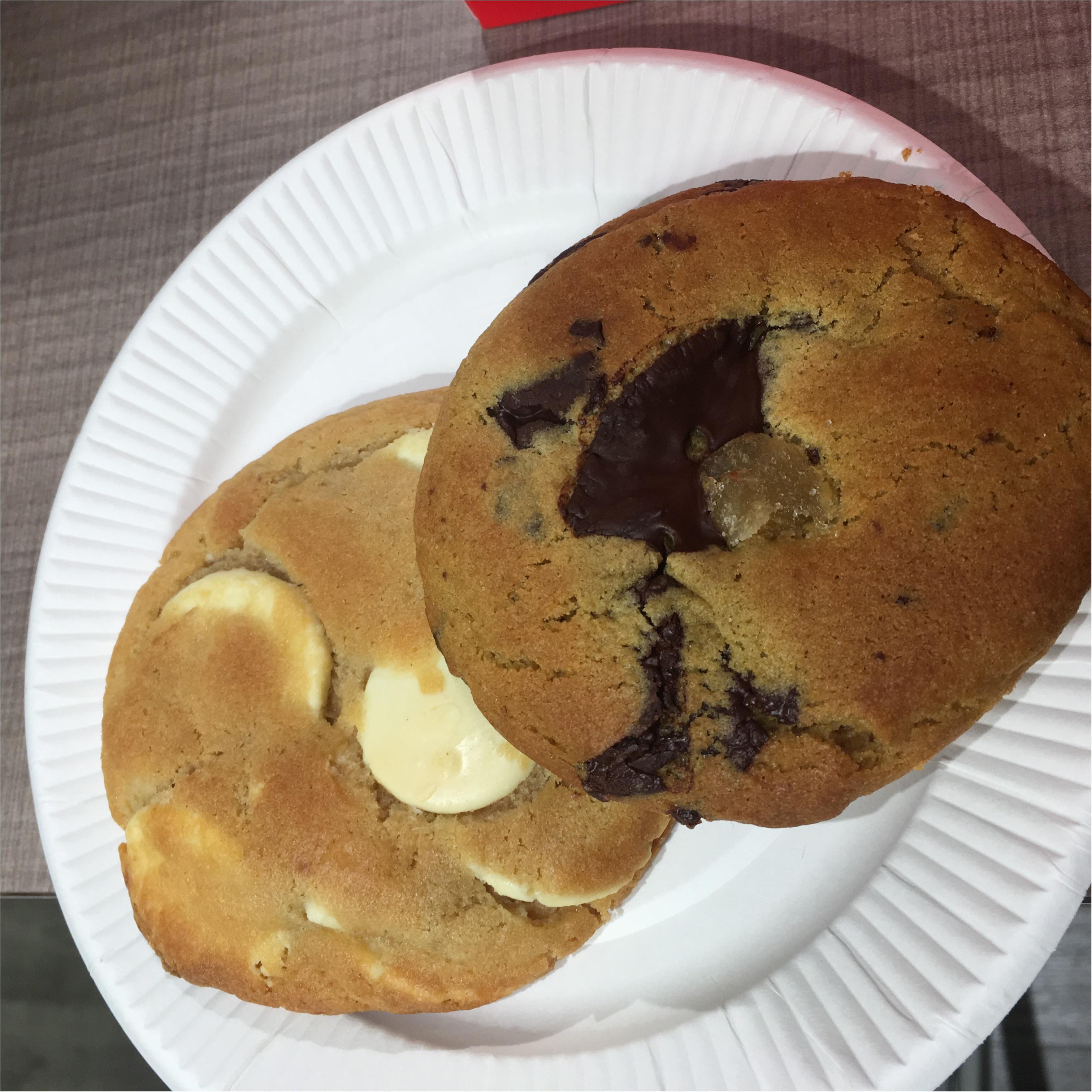 イギリス発人気クッキー専門店、Ben's cookiesたべてみました♡_2
