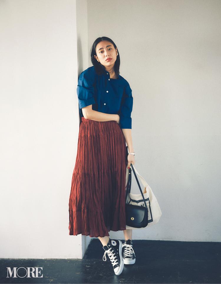 コンバースのスニーカー特集 - 20代ファッション(レディース)   おすすめのコーディネートまとめ_1