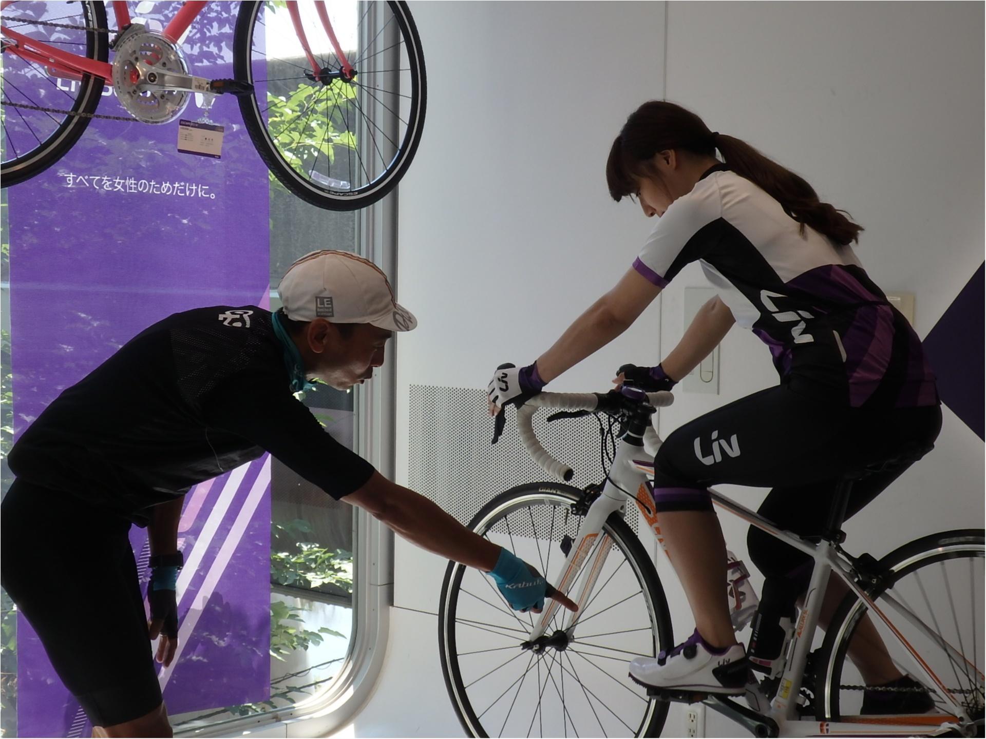 ロードバイク初体験!元オリンピック選手からしっかり教わります!#ツール・ド・東北【#モアチャレ あかね】_2