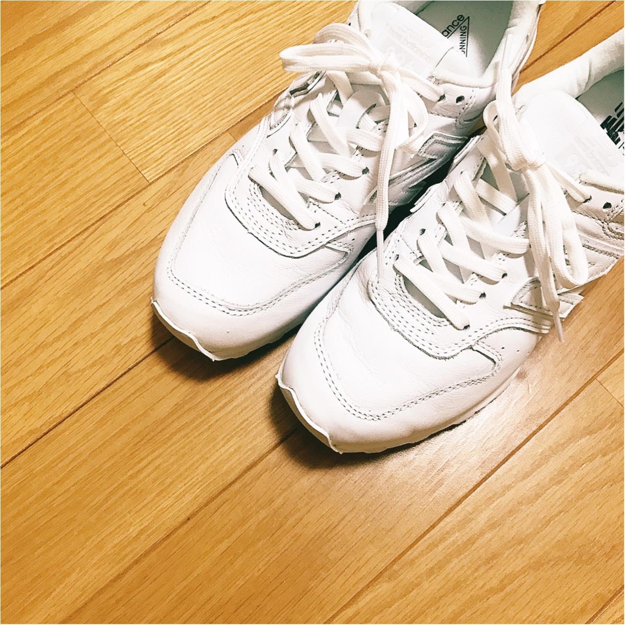 履くだけで一気に春めく❤︎【白スニーカー】のススメ_1