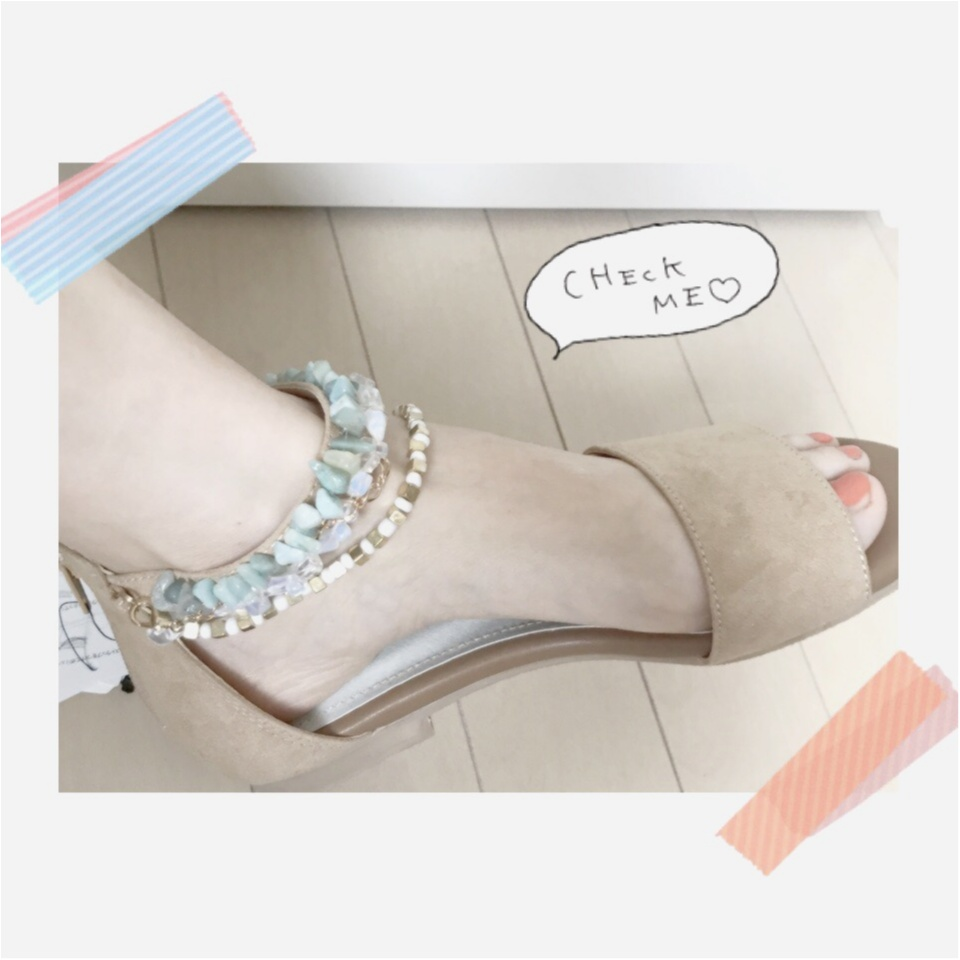 …ஐ 【summer shoes】5,000円以内プチプラサンダル♡ 私は流行りの\天然石/でサマーファッションを早く楽しみたい⠒̫⃝♡  ஐ¨_6