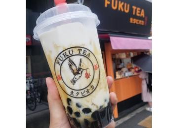大阪で1店舗の「FUKU TEA」の生タピオカが美味しすぎる!!