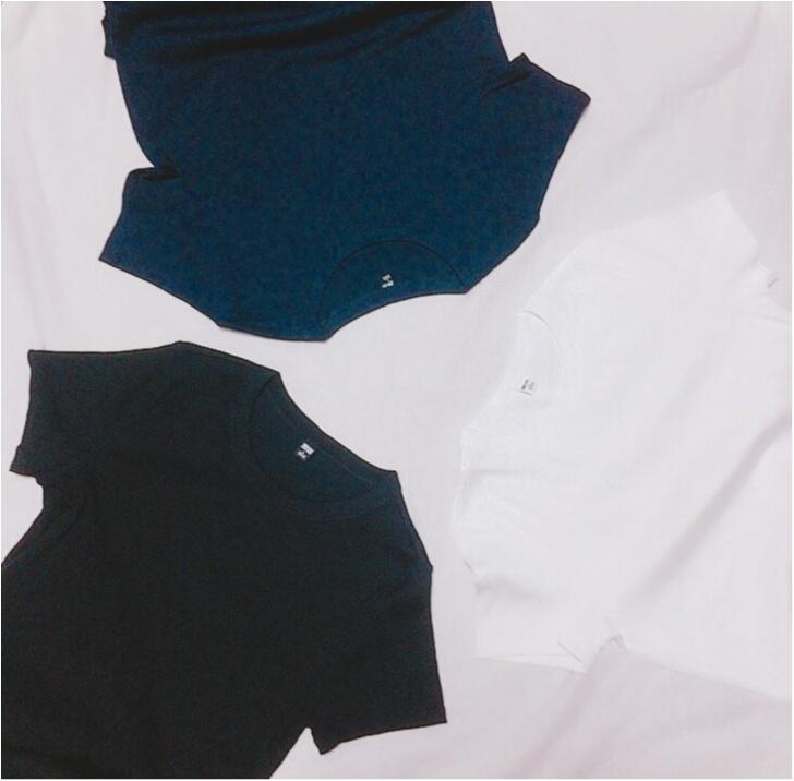 【この夏もUNIQLOが熱い】ヘビロテ間違いなし☆リブTシャツ_1