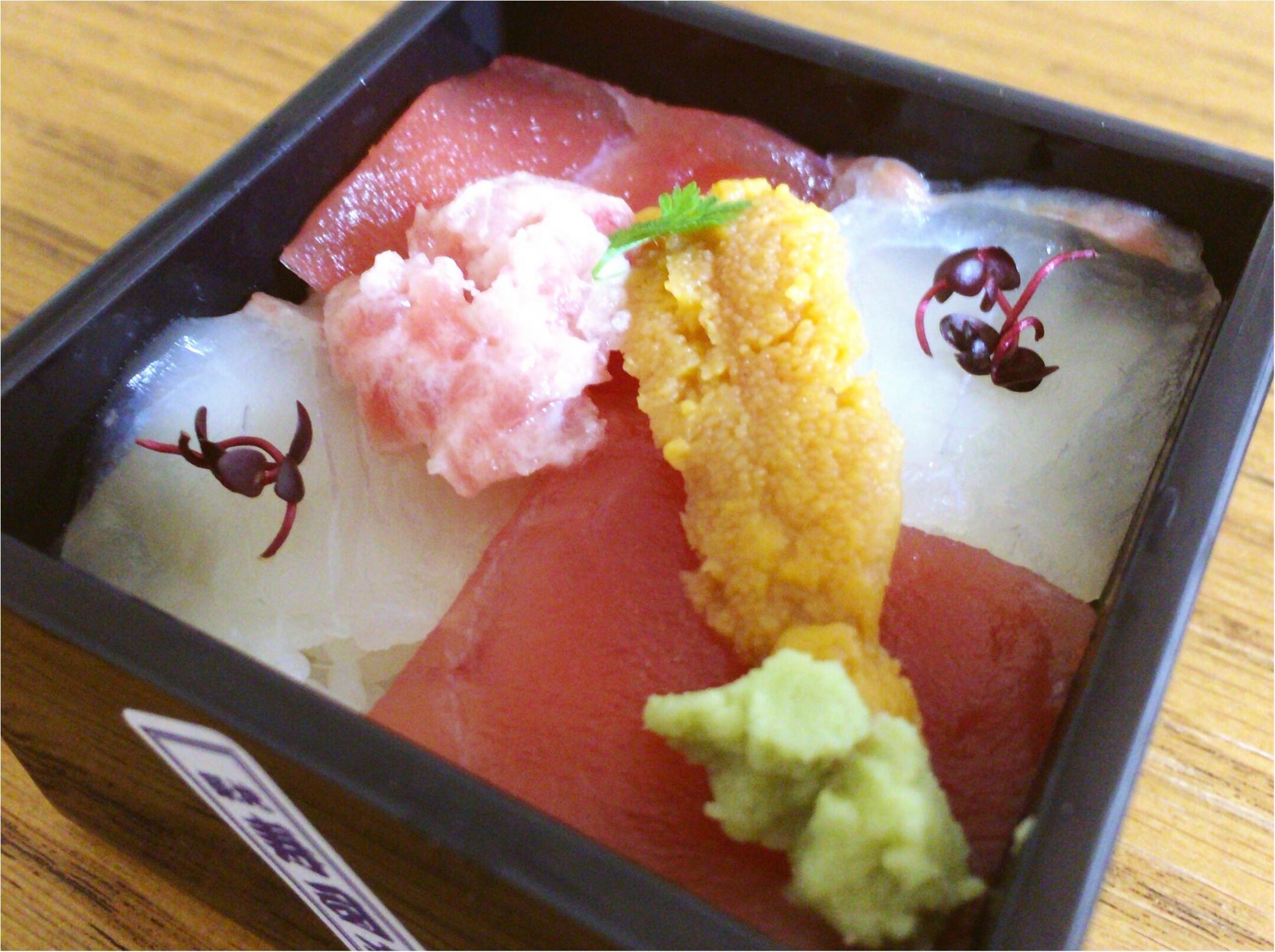 東京駅で買える【築地の寿司】小ぶり♡可愛い『一合一会』駅弁シリーズは新幹線のお供にGood◎_2