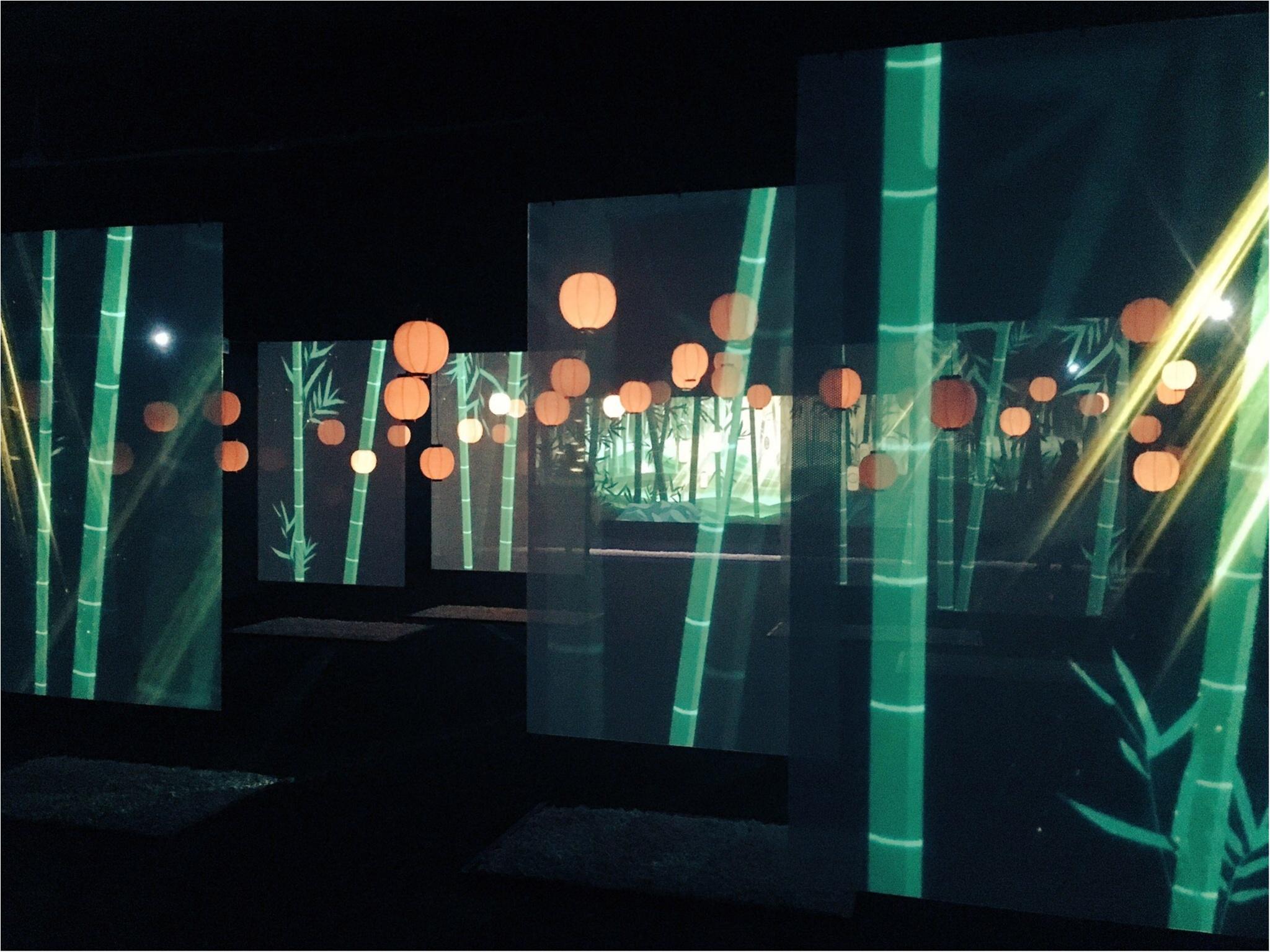 最新デジタルアートが織りなす『和食』の世界にうっとり…♡『食神さまの不思議なレストラン』に行ってきました!_3