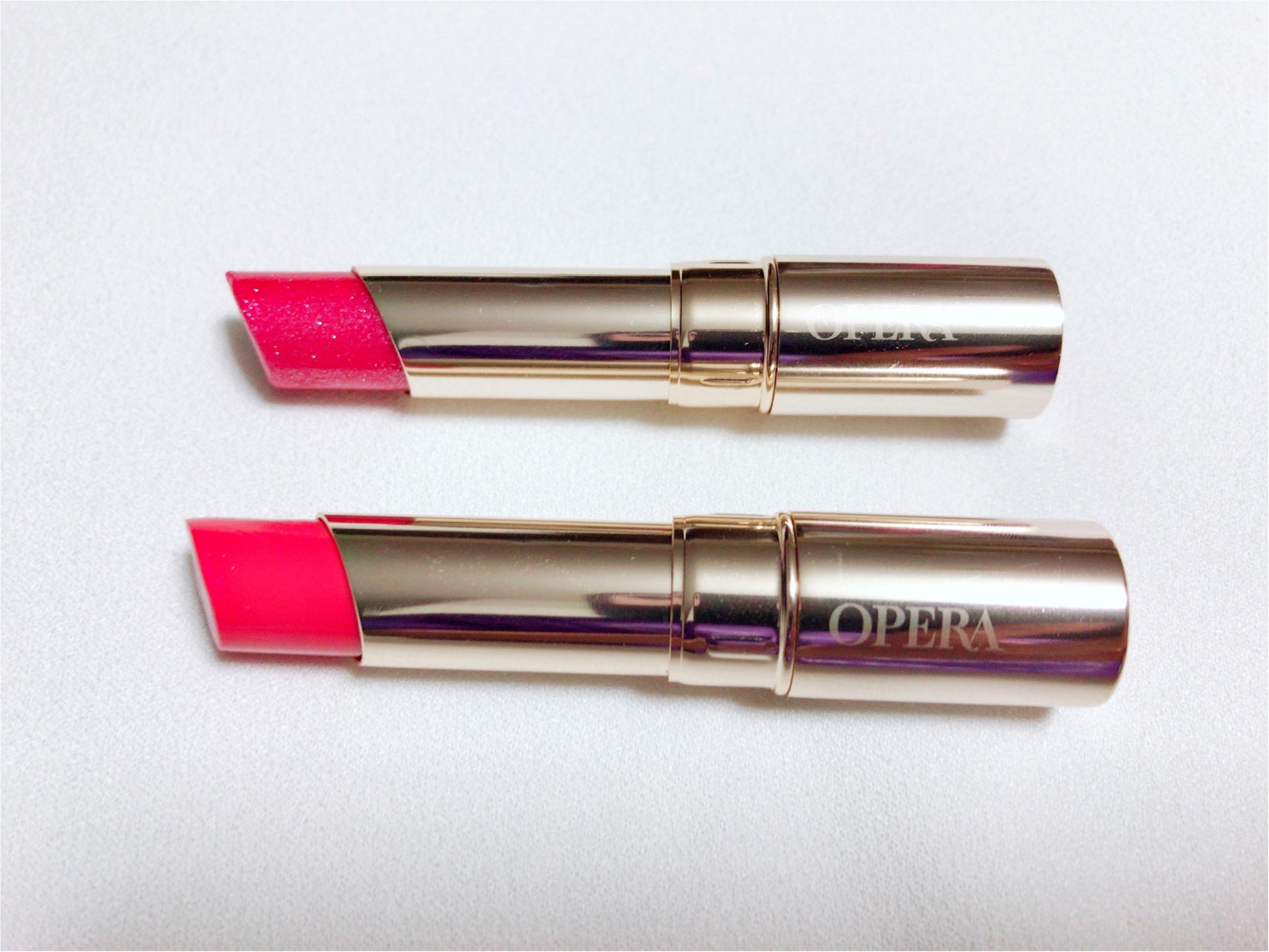 【OPERA】人気の限定色12番とコーラルピンク05番が使える♡色っぽくなる2色を比べてみました♡_4