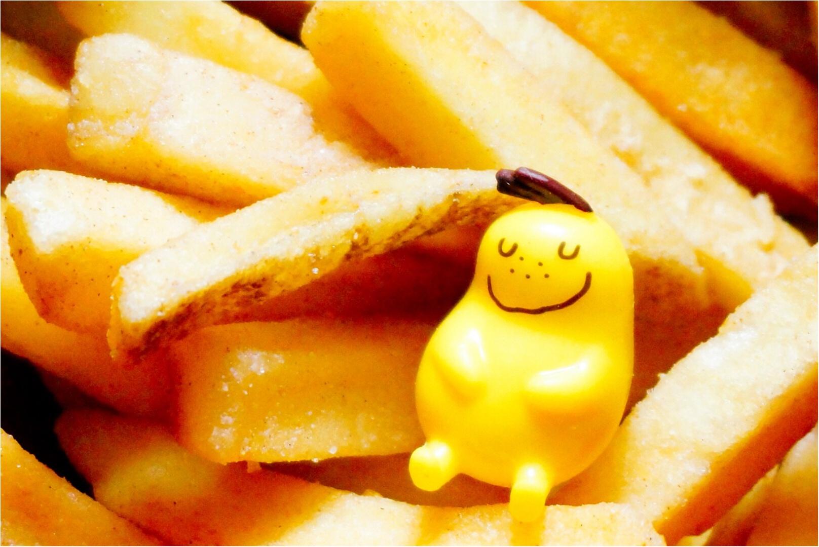 もう食べた⁉︎【Jagabee×MORE】私達が作ったコラボ商品『バターシナモン』が大好評発売中‼︎新商品が出来上がるまでの秘密も教えちゃう♡_7