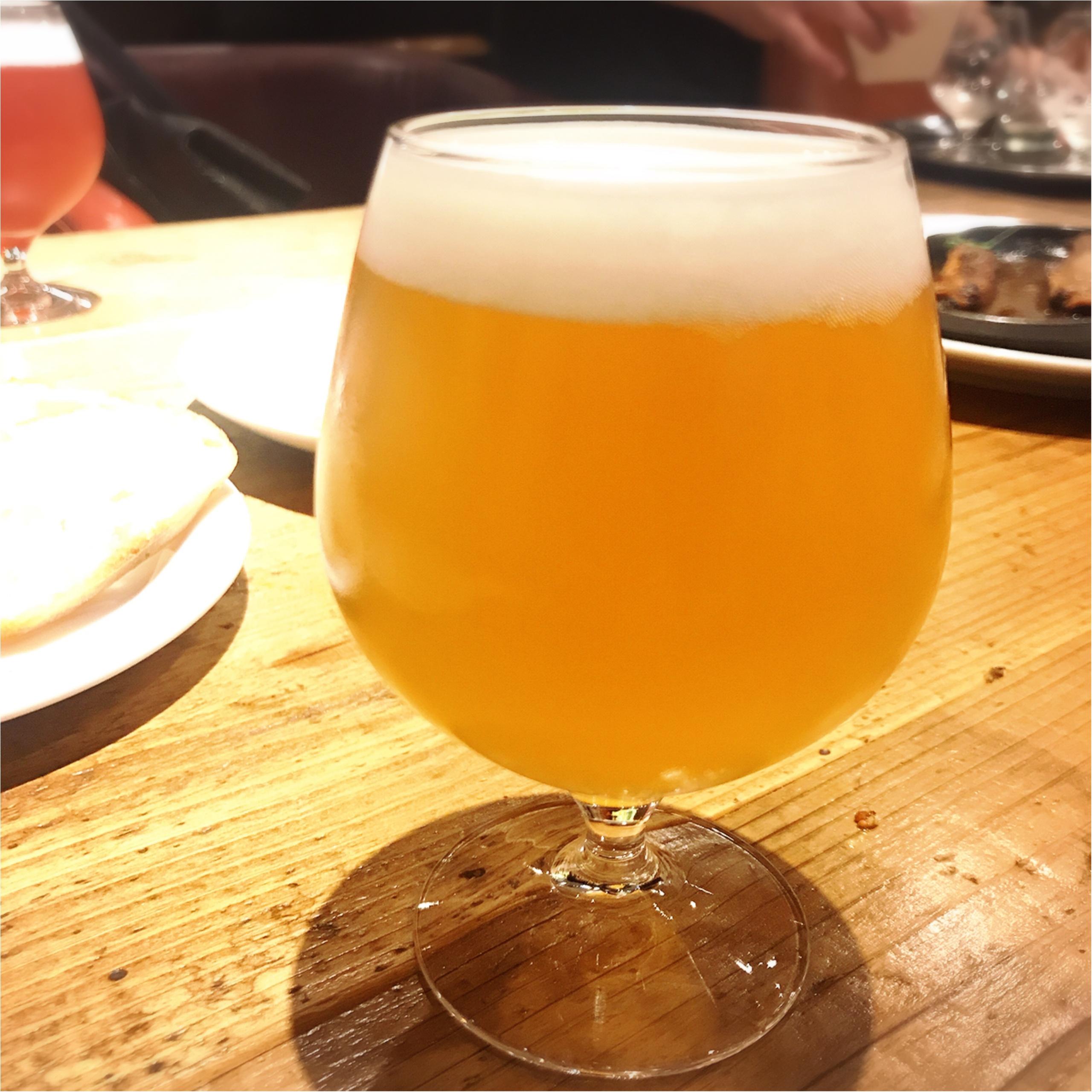 【北千住グルメ】ビール好き必見!「さかづきBrewing」の自家製クラフトビール♡_3