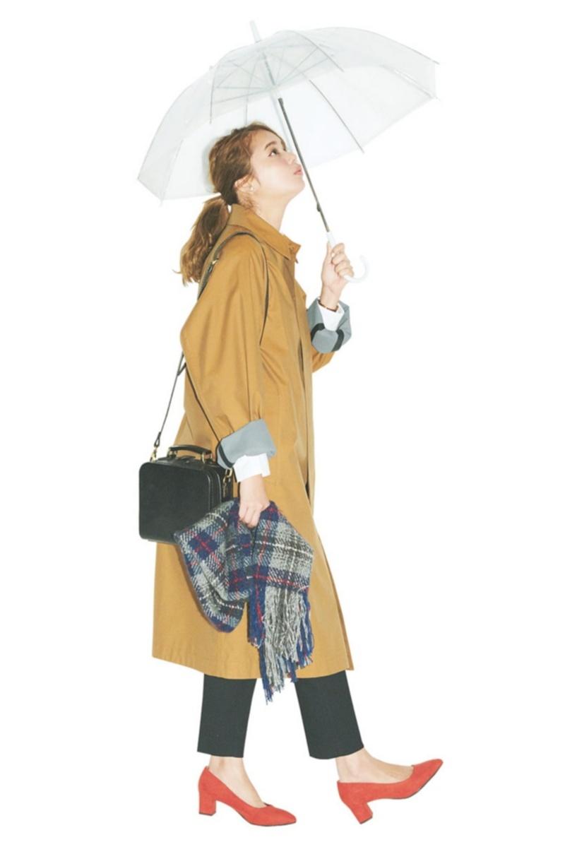 定番アウター【トレンチコート】の今どきコーデ10選  | ファッション(2018年秋)_1_10