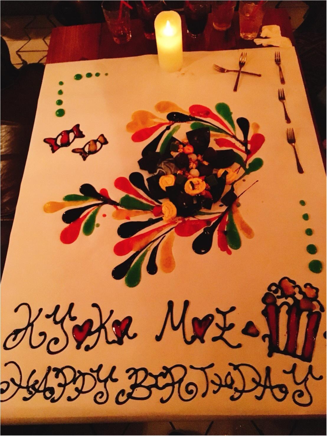 誕生日サプライズに♡かわいすぎるテーブルアート♪_1