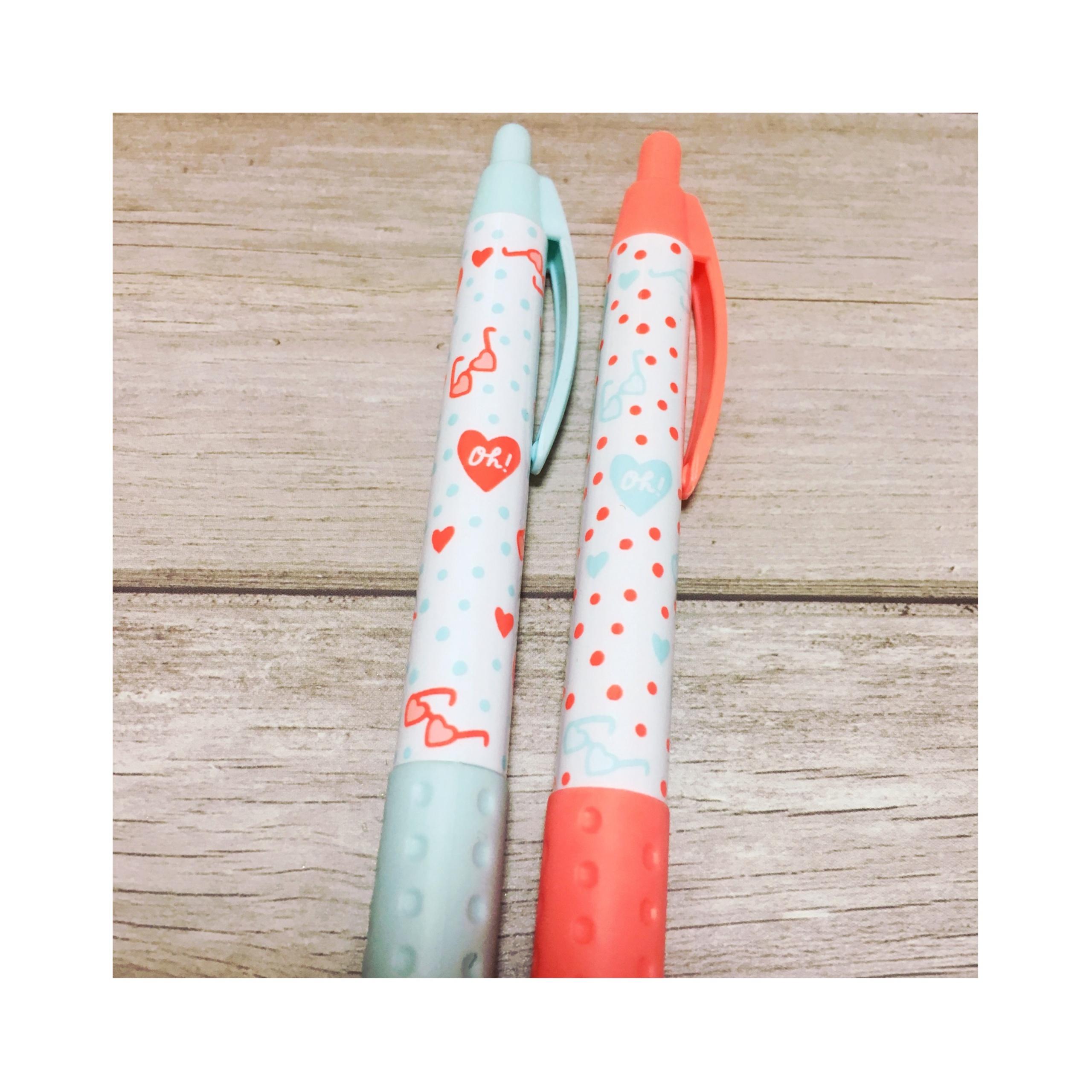 《オフィス用品も夏仕様にチェンジ★》【DAISO】で見つけたボールペンがかわいい!❤️_3