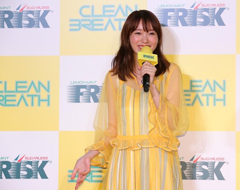 飯豊まりえ、カズレーザーさん、安藤なつさんが「フリスク クリーンブレス」新作発表会に登場!_4