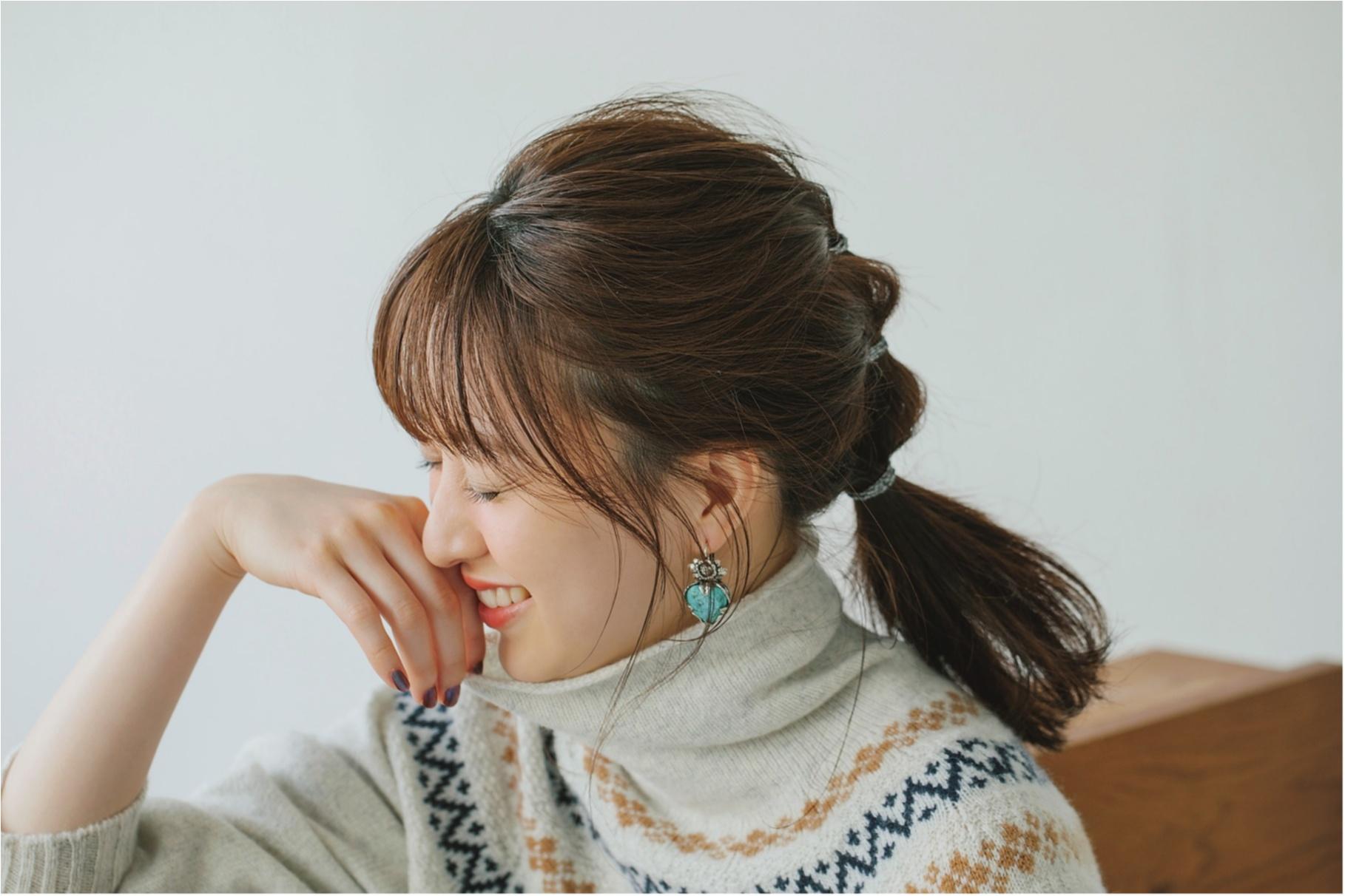 簡単でおしゃれなヘアアレンジ・髪型カタログ | セミロング3